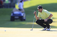 Thomas Aiken (RSA) on the 9th green during Sunday's Final Round of the 2018 Turkish Airlines Open hosted by Regnum Carya Golf &amp; Spa Resort, Antalya, Turkey. 4th November 2018.<br /> Picture: Eoin Clarke | Golffile<br /> <br /> <br /> All photos usage must carry mandatory copyright credit (&copy; Golffile | Eoin Clarke)