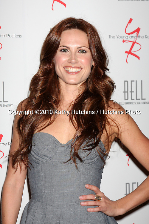 Vail Bloom.arrivng at The Young & The Restless 37th Anniversary Dinner.Via Allorro.Beverly Hills, CA.March 9, 2010.©2010 Kathy Hutchins / Hutchins Photo....