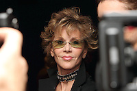 "Actress Jane Fonda arrives at a special screening of the film ""Mao's Last Dancer"" in New York City."