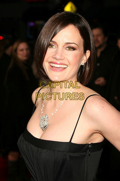 "CARLA GUGINO.""The Lookout"" Los Angeles Premiere at Grauman's Egyptian Theatre, Hollywood, California, USA..March 20th, 2007.headshot portrait silver necklace.CAP/ADM/BP.©Byron Purvis/AdMedia/Capital Pictures"