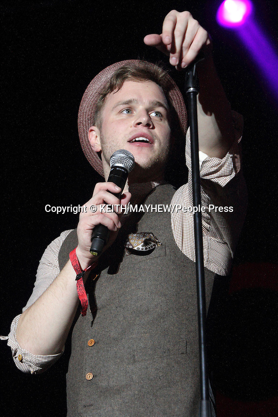 London - Olly Murs performs at Guilfest 2012, Stoke Park, Guildford, Surrey - July 14th 2012..Photo by Keith Mayhew.