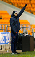 Blackpool's manager Danny Ventre<br /> <br /> Photographer Alex Dodd/CameraSport<br /> <br /> The FA Youth Cup Third Round - Blackpool U18 v Derby County U18 - Tuesday 4th December 2018 - Bloomfield Road - Blackpool<br />  <br /> World Copyright &copy; 2018 CameraSport. All rights reserved. 43 Linden Ave. Countesthorpe. Leicester. England. LE8 5PG - Tel: +44 (0) 116 277 4147 - admin@camerasport.com - www.camerasport.com