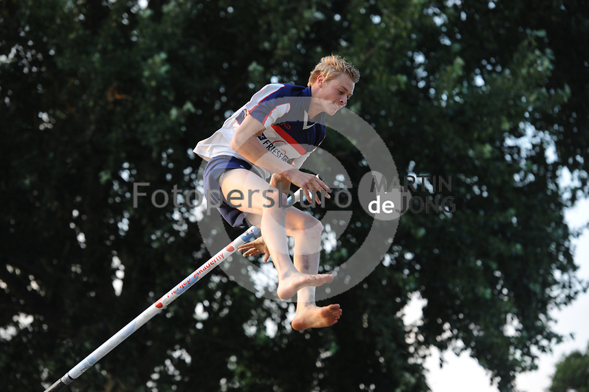 FIERLJEPPEN: IT HEIDENSKIP: 05-07-2017, ©foto Martin de Jong