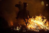 San Bartolome de Pinares Luminarias festivity