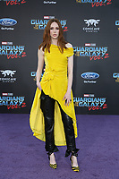 19 April 2017 - Hollywood, California - Karen Gillan. Premiere Of Disney And Marvel's &quot;Guardians Of The Galaxy Vol. 2&quot; held at Dolby Theatre. <br /> CAP/ADM/PMA<br /> &copy;PMA/ADM/Capital Pictures