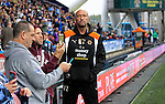 Huddersfield Town 1 Wolverhampton Wanderers 0, 27/08/2016. John Smith's Stadium, Championship. Walter Zenga Head Coach of Wolverhampton Wanderers. Photo by Paul Thompson.