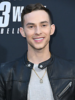 "15 May 2019 - Hollywood, California - Adam Rippon. ""John Wick: Chapter 3 - Parabellum"" Special Screening Los Angeles held at the TCL Chinese Theatre. Photo Credit: Birdie Thompson/AdMedia"