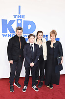 "Andy Serkis, Louis Ashbourne Serkis and Lorraine Ashbourne<br /> arriving for the premiere of ""The Kiid who would be King"" at the Odeon Luxe cinema, Leicester Square, London<br /> <br /> ©Ash Knotek  D3476  03/02/2019"