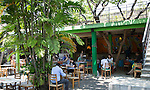 Courtyard cafe in Barefoot shop, Colombo, Sri Lanka, Asia