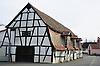 Langscheune im Fachwerkbau in Alzey-Heimersheim