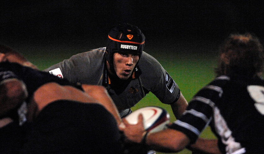 Photo: Richard Lane..London Wasps A v Oxford University. 23/10/2006. .Wasps' Jonny O'Connor on his comeback from injury.