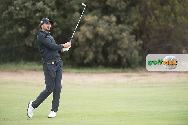Clement Sordet (FRA) during the final round of the VIC Open, 13th Beech, Barwon Heads, Victoria, Australia. 09/02/2019.<br /> Picture Anthony Powter / Golffile.ie<br /> <br /> All photo usage must carry mandatory copyright credit (© Golffile | Anthony Powter)