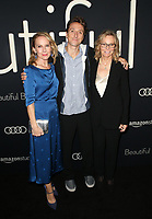 BEVERLY HILLS, CA - OCTOBER 8: Amy Ryan, Nic Sheff, Vicki Sheff, at the Los Angeles Premiere of Beautiful Boy at the Samuel Goldwyn Theater in Beverly Hills, California on October 8, 2018. <br /> CAP/MPIFS<br /> ©MPIFS/Capital Pictures
