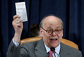 United States Representative Steve Cohen (Democrat of Tennessee) holds up a copy of the US Constitution as he questions constitutional scholars during testimony before the US House Judiciary Committee in the Longworth House Office Building on Capitol Hill December 4, 2019 in Washington, DC. This is the first hearing held by the House Judiciary Committee in the impeachment inquiry against U.S. President Donald Trump, whom House Democrats say held back military aid for Ukraine while demanding it investigate his political rivals. The Judiciary Committee will decide whether to draft official articles of impeachment against President Trump to be voted on by the full House of Representatives. <br /> Credit: Drew Angerer / Pool via CNP