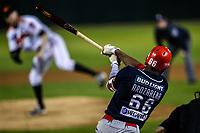 Randy Arozarena de los mayos, durante el juego de beisbol de la Liga Mexicana del Pacifico temporada 2017 2018. Cuarto juego de la serie de playoffs entre Mayos de Navojoa vs Naranjeros. 05Enero2018. (Foto: Luis Gutierrez /NortePhoto.com)