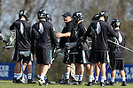 12 February 2017: CSU assistant coach Gary Cintron. The Duke University Blue Devils hosted the Cleveland State University Vikings at Koskinen Stadium in Durham, North Carolina in a 2017 Division I College Men's Lacrosse match. Duke won the game 22-7 in overtime.