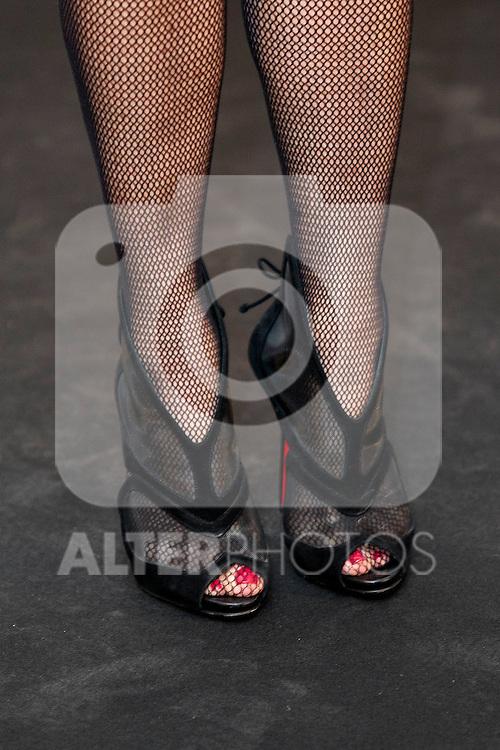 """King Felipe of Spain and Queen Letizia of Spain attend 'XIII EDICIÓN DE LOS PREMIOS INTERNACIONALES DE PERIODISMO 2013 Y CONMEMORACIÓN DEL 25º ANIVERSARIO DEL DIARIO """"EL MUNDO"""" at The Westin Palace Hotel. <br /> Ana Rosa Quintana<br /> October 20, 2014. (ALTERPHOTOS/Emilio Cobos)"""