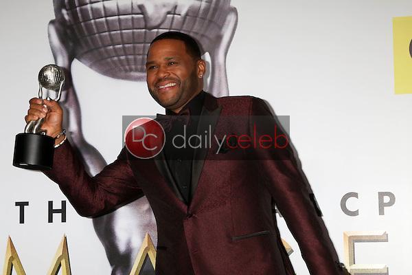 Anthony Anderson<br /> at the 47TH NAACP Image Awards Press Room, Pasadena Civic Auditorium, Pasadena, CA 02-05-16<br /> David Edwards/DailyCeleb.com 818-249-4998