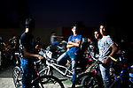 "Baghdad, Iraq  : Fri 15th Oct 2010 :..An unofficial bike show  in Baghdad's Jadriya district. An underground youth scene has developed around motorbike culture in the Iraqi capital. .From ""Yesterday's War, Today's Iraq,"" an ongoing series documenting Iraq and Iraqis as US forces withdraw from the country and media interest wanes. ..."