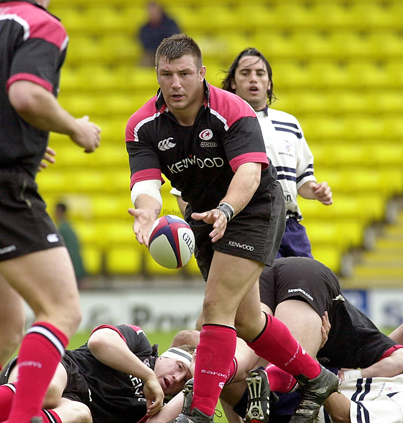 Photo: Ken Brown.21.5.00 Saracens v Bristol.Julian White