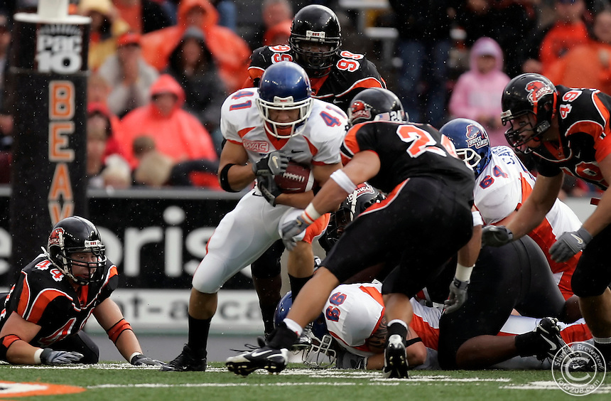 Corvallis, OR. 9-10-05 Boise State at Oregon State.