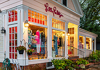 Lilly Pulitzer Signature Store, Chatham, Cape Cod, Massachusetts, USA.