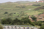 The peloton in action during Stage 18 of the 2017 La Vuelta, running 169km from Suances to Santo Toribio de Li&eacute;bana, Spain. 7th September 2017.<br /> Picture: Unipublic/&copy;photogomezsport | Cyclefile<br /> <br /> <br /> All photos usage must carry mandatory copyright credit (&copy; Cyclefile | Unipublic/&copy;photogomezsport)