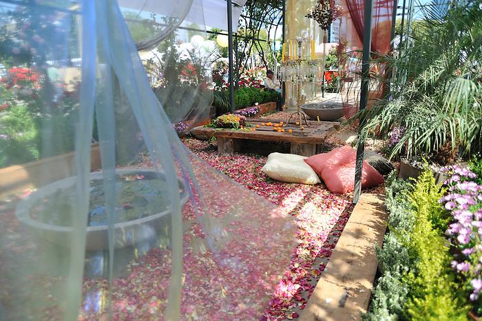 Parque Araucano / Exposición de las rosas (Santiago de Chile).
