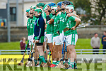 Ballyduff before the Senior County Hurling Final in Austin Stack Park on Sunday
