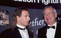 Lee Iacocca & Michael Bolton 1992 by<br />