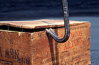CROWBAR OPENING A CRATE<br />