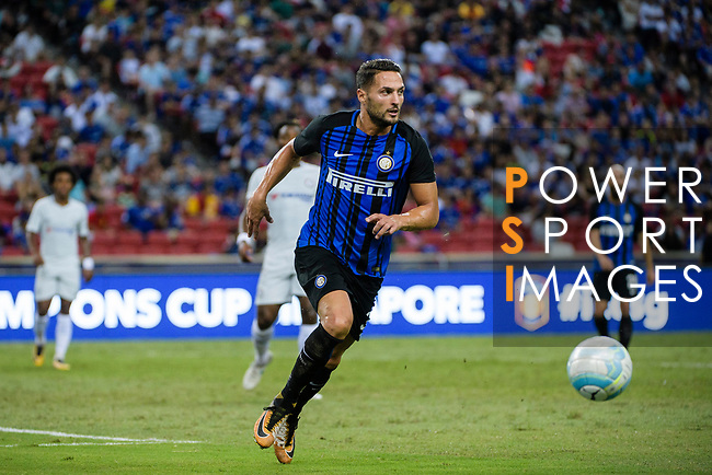 FC Internazionale Defender Danilo D'Ambrosio in action during the International Champions Cup 2017 match between FC Internazionale and Chelsea FC on July 29, 2017 in Singapore. Photo by Weixiang Lim / Power Sport Images