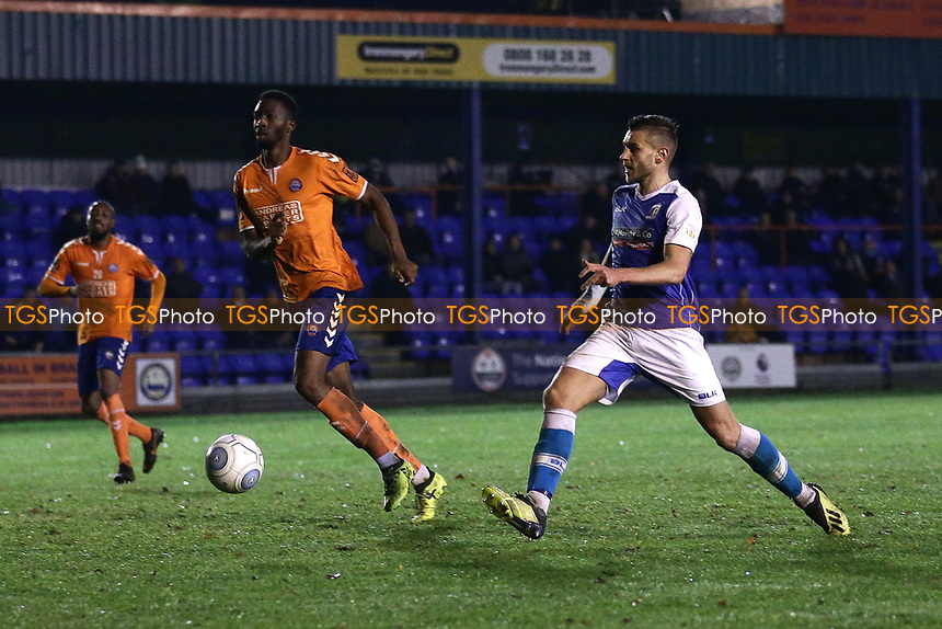 Braintree Town vs Barrow, Vanarama National League Football at the IronmongeryDirect Stadium on 1st December 2018