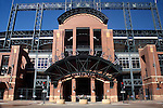 MAIN ENTRANCE TO COORS FIELD IN DENVER COLORADO