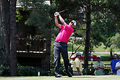 4th June 2017, Dublin, OH, USA;  Phil Mickelson tees off on the second hole during the Memorial Tournament - Final Round at Muirfield Village Golf Club in Dublin, Ohio