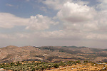 Samaria, a view of Mount Kabir and settlement Alon More' from Mount Ebal