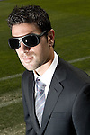 Getafe's Jaime Gavilan during sunglasses fashion shoot. October 07, 2010. (ALTERPHOTOS/Alvaro Hernandez)