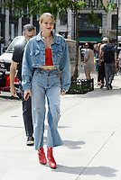 www.acepixs.com<br /> June 29, 2017 New York City<br /> <br /> Gigi Hadid was seen in New York City on June 29, 2017.<br /> <br /> Credit: Kristin Callahan/ACE Pictures<br /> <br /> Tel: 646 769 0430<br /> Email: info@acepixs.com