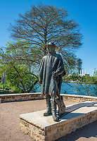 Stevie Ray Vaughn statue