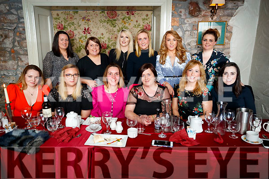 Ann Marie Prendiville, Firies, who celebrated her 40th birthday with family and friends in Cassidys on Friday Night, front l-r: Marcella O'Flaherty, Michelle Walsh, Mary Barrrett, Ann Marie Prendville Majella McElhatton and Lisa Courtney. Back l-r: Sinead Daly, Maeve Holly, Siobhan McSharry, Helena Brennan, Aideen O'Connor and Emma Donovan.