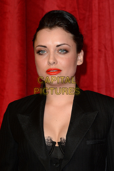 LONDON, ENGLAND - MAY 28: Shona McGarty attends the British Soap Awards 2016 at Hackney Town Hall on May 28, 2016 in London, England.<br /> CAP/BEL<br /> &copy;BEL/Capital Pictures