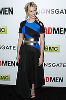 "HOLLYWOOD, LOS ANGELES, CA, USA - APRIL 02: January Jones at the Los Angeles Premiere Of AMC's ""Mad Men"" Season 7 held at ArcLight Cinemas on April 2, 2014 in Hollywood, Los Angeles, California, United States. (Photo by Xavier Collin/Celebrity Monitor)"