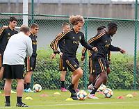 20190903 – TUBIZE , BELGIUM : Belgian Wout Faes is pictured during a training session of the U21 youth team of the Belgian national soccer team Red Devils , a training session as a preparation for their first game against Wales in the qualification for the European Championship round in group 9 on the road for Hungary and Slovenia in 2021, Tuesday 3rd of September 2019 at the National training grounds in Tubize , Belgium. PHOTO SPORTPIX.BE | Sevil Oktem