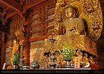 Yakushi Nyorai Healing Buddha, 12 Yaksha Generals, Gakko Radiant Sun Bodhisattva, Kondo Golden Hall, Toji East Temple, Kyoto, Japan