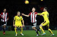 Brentford vs Burnley 15-01-16