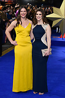 "Abbie Scott and Sarah Hunter<br /> arriving for the ""Captain Marvel"" European premiere at the Curzon Mayfair, London<br /> <br /> ©Ash Knotek  D3484  27/02/2019"