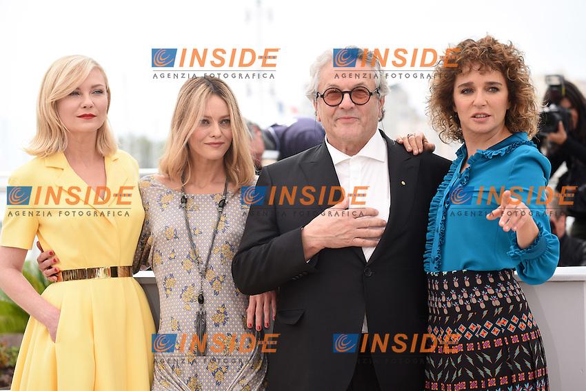 Kirsten Dunst, Vanessa Paradis, George Miller, Valeria Golino<br /> Festival di Cannes 2016 <br /> Foto Panoramic / Insidefoto