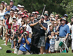 Gary Wilcox/staffÉ Sergio Garcia makes a fairway shot off the 2nd green during Final Round action in The Players Championship at the TPC Sawgrass Players Stadium Course in Ponte Vedra Beach, Florida, on Sunday, May 11, 2008. Garcia went on to win The Players Championship on Sunday. ..