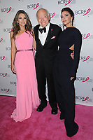www.acepixs.com<br /> May 12, 2017  New York City<br /> <br /> Elizabeth Hurley, Leonard Lauder, Victoria Beckham attending The Breast Cancer Research Foundation's Annual Hot Pink Party on May 12, 2017 in New York City.<br /> <br /> Credit: Kristin Callahan/ACE Pictures<br /> <br /> <br /> Tel: 646 769 0430<br /> Email: info@acepixs.com