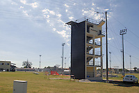- Camp Ederle US Army base, launch tower for parachutists training....- base US Army di caserma Ederle, torre di addestramento per il lancio dei paracadutisti